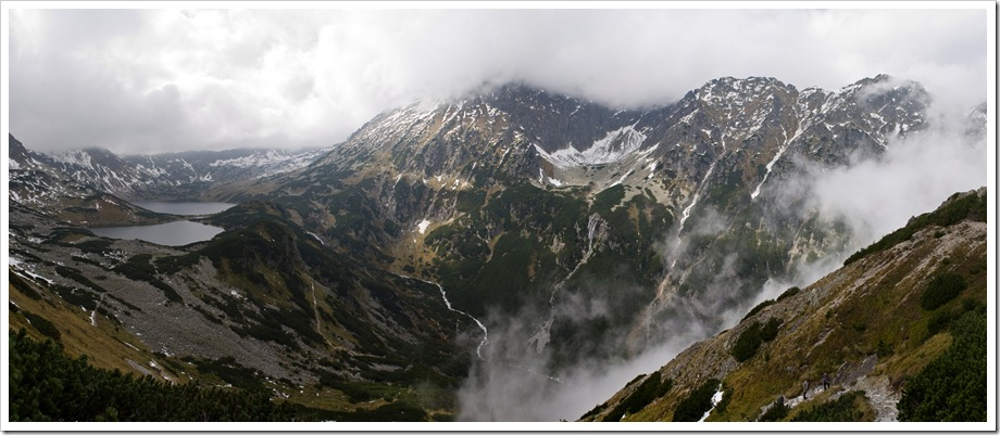 dolina zawieszona i 5 stawow