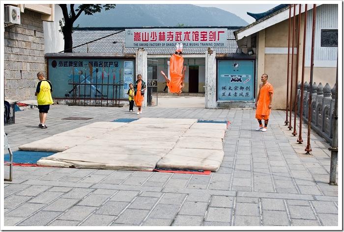klasztor shaolin 少林寺 Chiny made in rpc Daniel Guzik Button