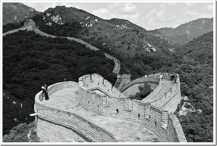 Great Wall Wielki Mur Chiński Chiny made in rpc Badaling Daniel Guzik Guziki Button